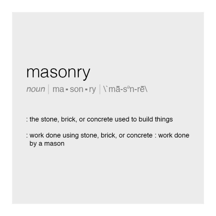 Masonry Definition - Feature Image