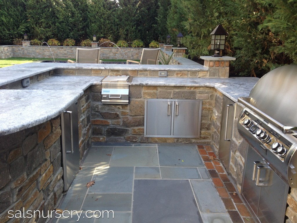Outdoor Kitchen from Philly Design Home 2014