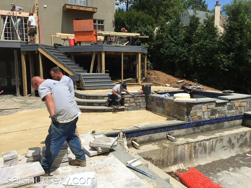 Pool Deck Progress